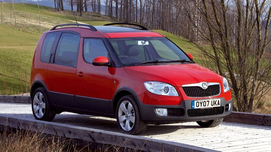 Skoda Roomster Scout 1.9 TDi (2007) review by CAR Magazine